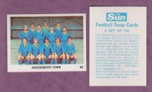 Shrewsbury Town Team 63